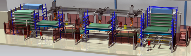 System for low batch production